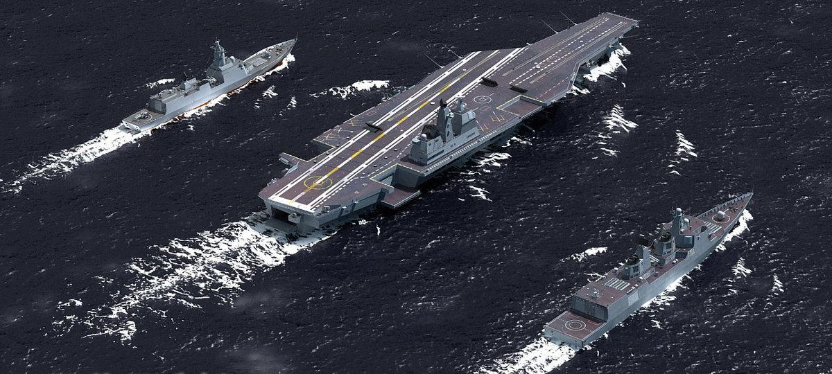 Вечная классика: Китай строит первый авианосец классической архитектуры