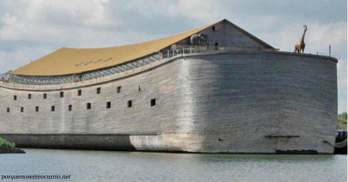 В Голландии создатели копии Ноева ковчега решили дойти на нем до Израиля